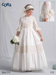 Cora comuniones 2016 vestido