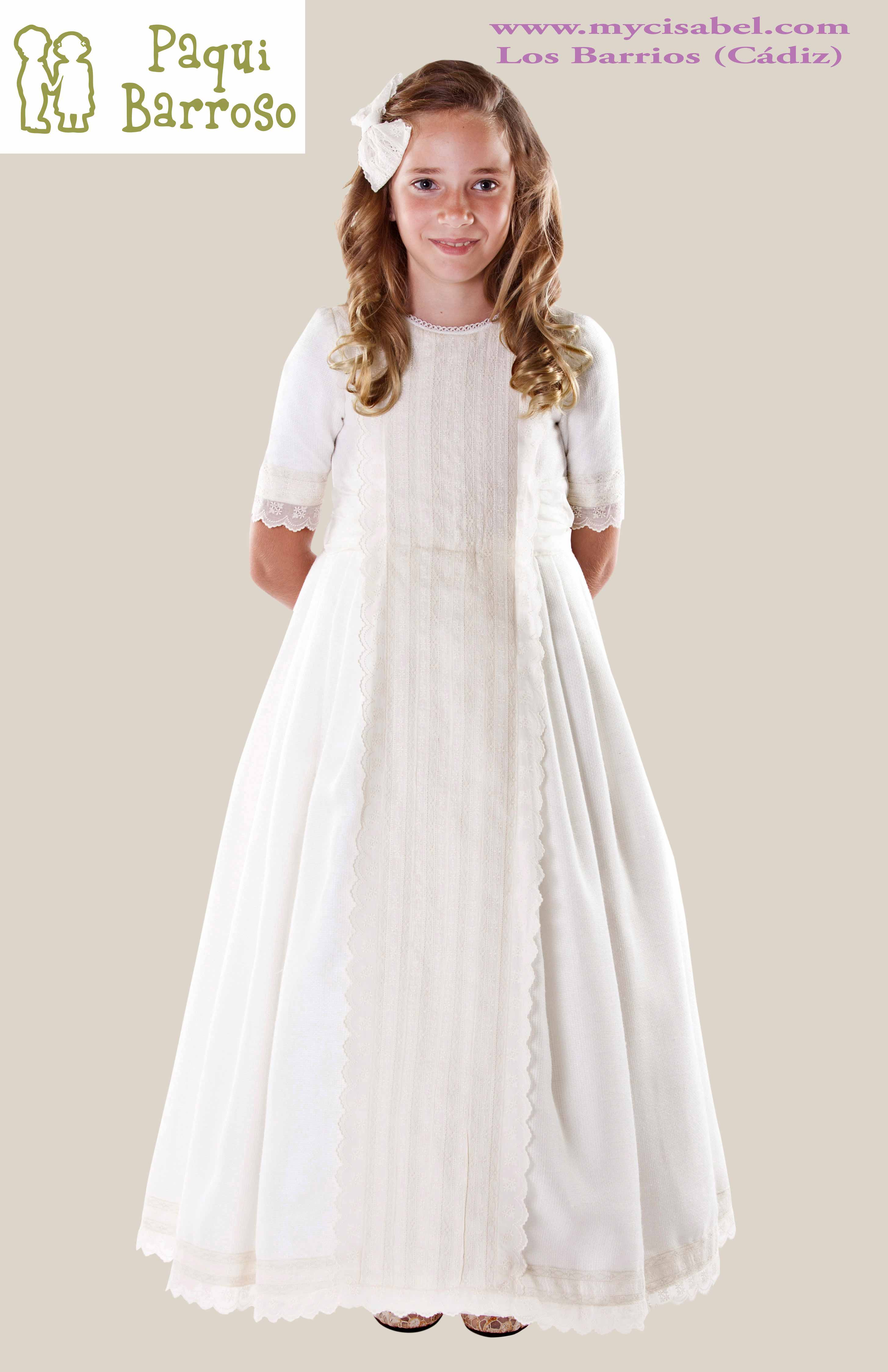 Vestidos de comunion 2019 paqui barroso