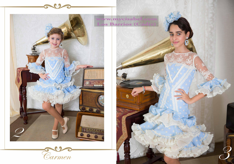 4f5d62eaf El abanico artesania trajes de flamenco 2017-114 | Modas y ...