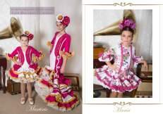 El abanico artesania trajes de flamenco 2017-98