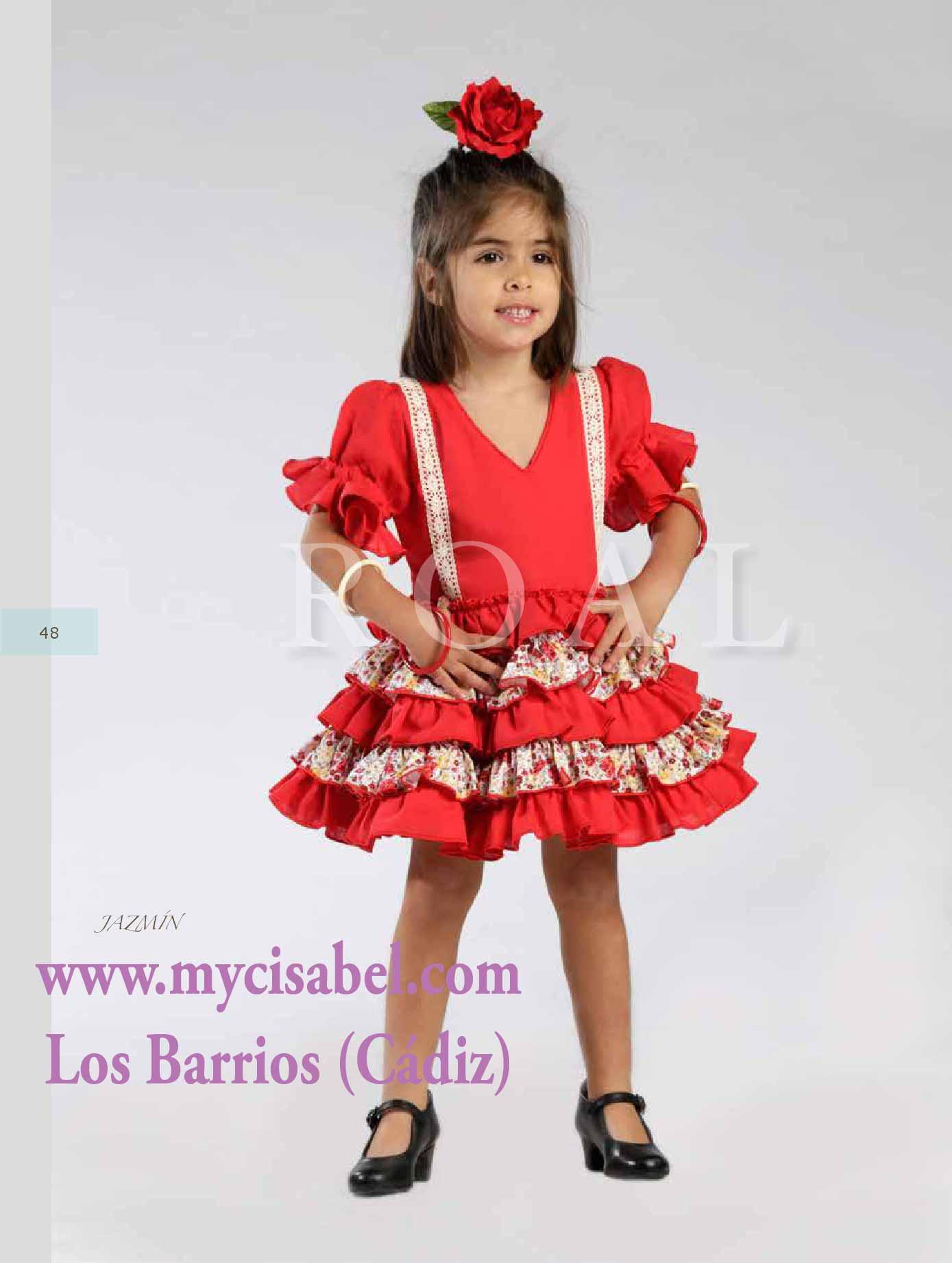 758527833 Creaciones Roal: trajes de flamenca para niñas 2017 | Modas y ...