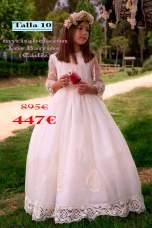 Vestidos de comunion outlet 2018Kobez-15429-(895-447)-talla-10