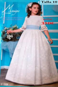 Vestidos de comunion outlet 2018Marigas-C7828--695-350-talla-10