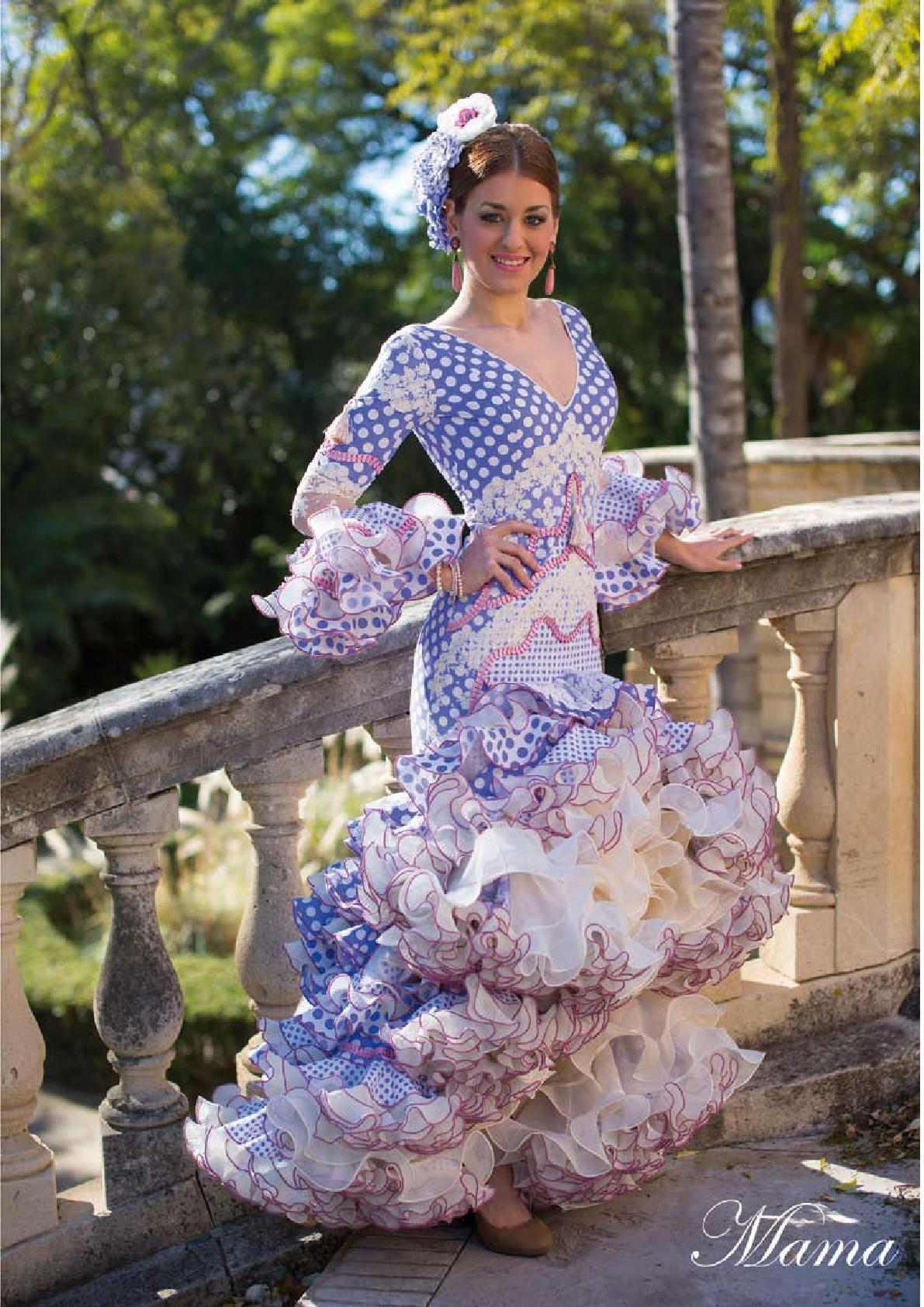 565aa791e vestidos de flamenca El Abanico Artesania-29 | Modas y Complementos ...