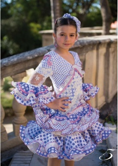 vestidos de flamenca El Abanico Artesania-35