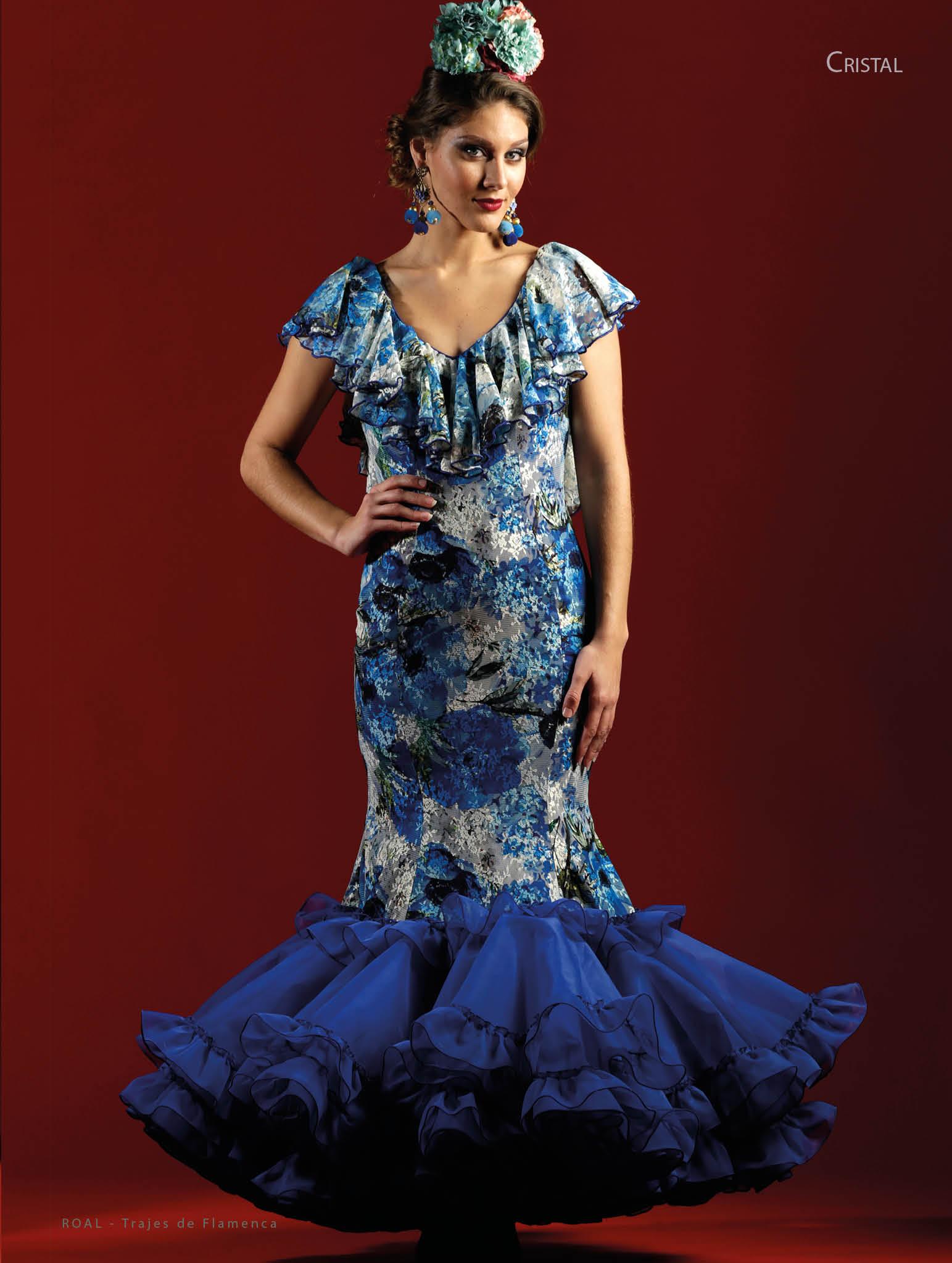 9a41c9278 Creaciones Roal: trajes de flamenca catálogo 2018 | Modas y ...
