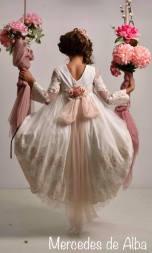 vestido comunion mercedes de alba 2019 - 10