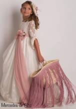 vestido comunion mercedes de alba 2019 - 25