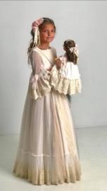 vestido comunion mercedes de alba 2019 - 30