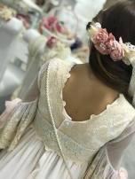 vestido comunion mercedes de alba 2019 - 34