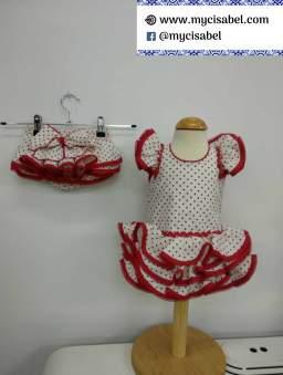 Vestidos flamenco bebes Cachalla - 5