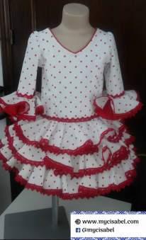 Vestidos flamenco bebes Cachalla - 6